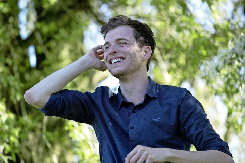 Loek Dijkman (25) uit Beverwijk is tijdens de komende gemeenteraadsverkiezingen de lijsttrekker voor het CDA Beverwijk en Wijk aan Zee.