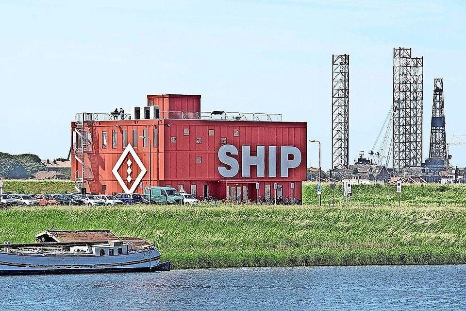 Ship in IJmuiden.