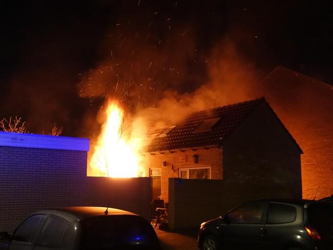 Brand in vakantiewoning in Egmond aan Zee