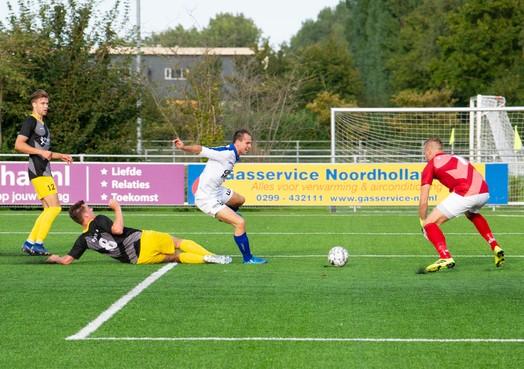 Zware zeperd Purmersteijn, hoofdklasser krijgt pak slaag van Staphorst (2-8)