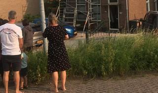 Grote brand in gebouw aan de Ringweg in Zaandam