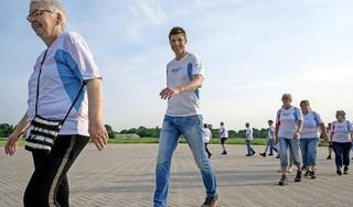 De Diabeteschallenge: twintig weken lang op een vaste dag aan de wandel met een leuk groepje. Team Sportservice daagt iedereen uit om mee te doen