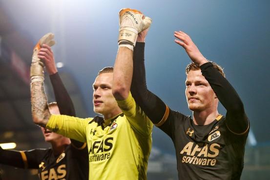 Ferdy Druijf sluit seizoen af als topscorer van de eerste divisie
