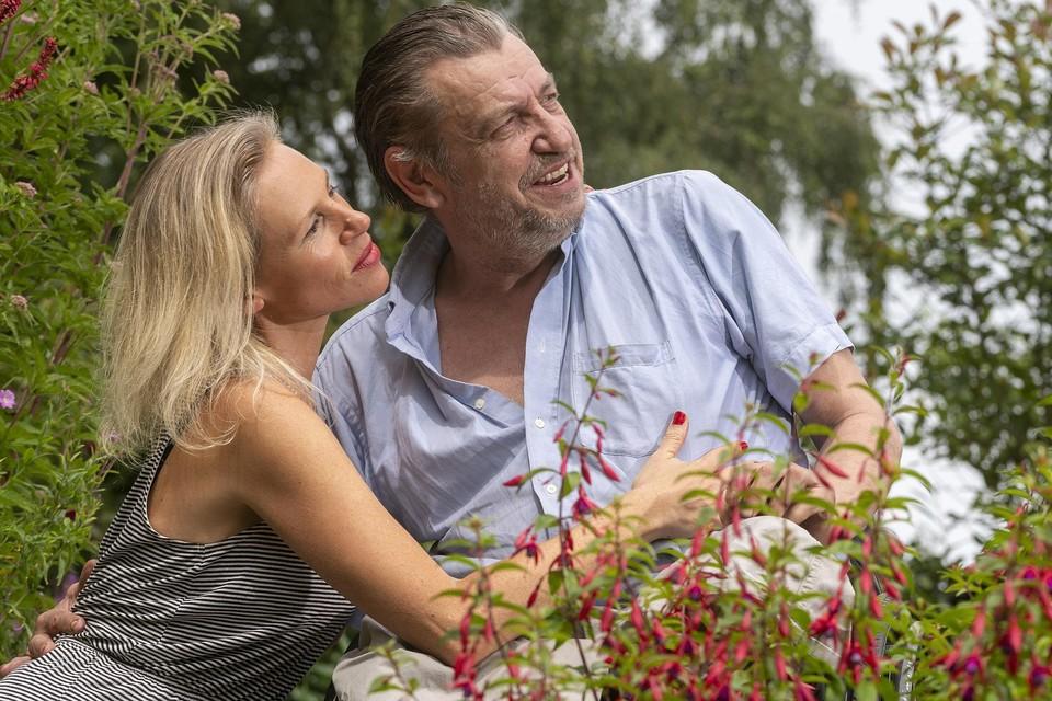 Rob Scholte en echtgenote Lijsje Snijder.