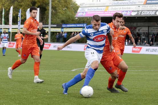 Interim De Graaf sluit af met winst voor Spakenburg en geeft stokje over aan Meijers