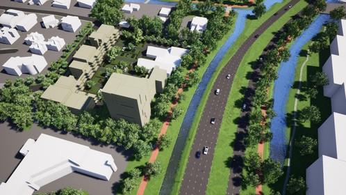 Ook woontoren in plan met 97 appartementen aan Nieuwe Steen in Hoorn