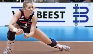 Volleybalinternational Kirsten Knip keert terug naar Frankrijk, Gijs Jorna plakt er daar nog een jaar aan vast