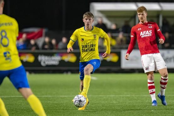 AZ-huurling maakt indruk bij Cambuur en is op weg naar de eredivisie én een contract in Friesland