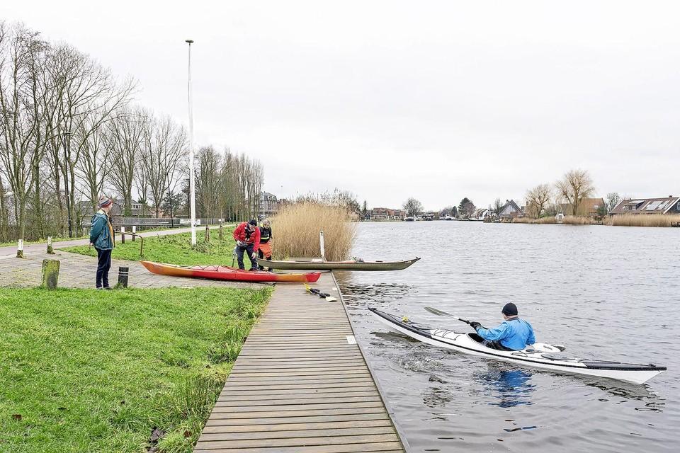 Kanoërs kunnen zonder zorgen harder dan zes kilometer per uur blijven gaan.