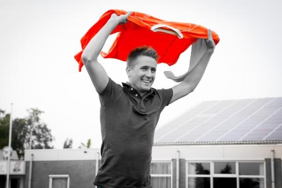 Nieuwkomer Jeroen Kossen blij met VVS'46: 'Iedereen wil toch in oranje spelen?'