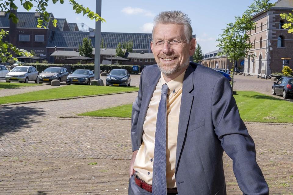 Burgemeester Jan de Boer.