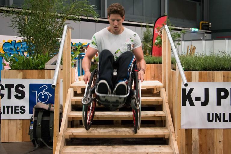 Na noodlottige val behoort Soester zitskiër Floris Meijer (29) toch in de wereldtop; crowdfunding nodig voor zijn droom