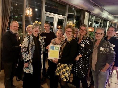 West-Friese biebs krijgen NOV-keurmerk 'Goed Geregeld' voor de inzet van hun vrijwilligers