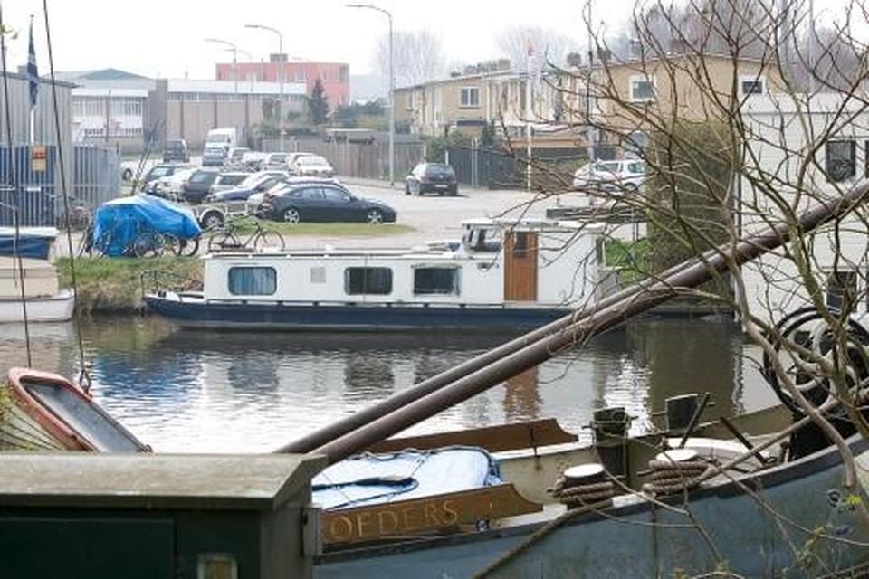 De plek waar volgens de plannen van 2012 de Bestevaerbrug moest komen.