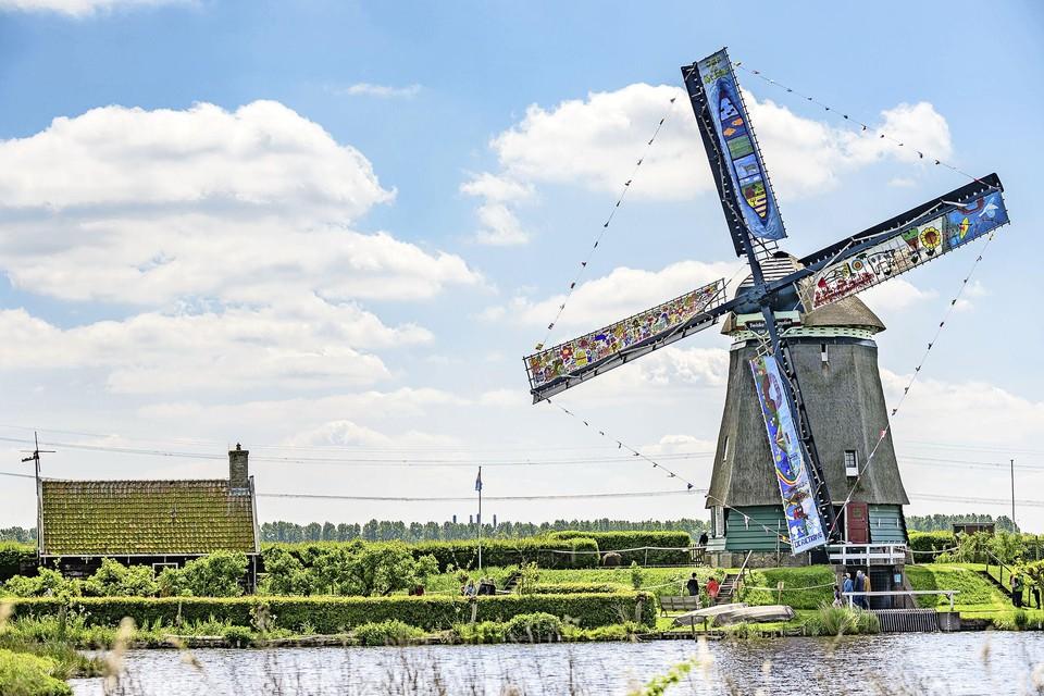 De Twiskemolen in Landsmeer.