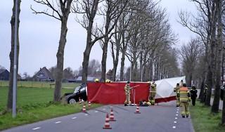 Automobilist (31) om het leven gekomen bij eenzijdig ongeluk in Wognum