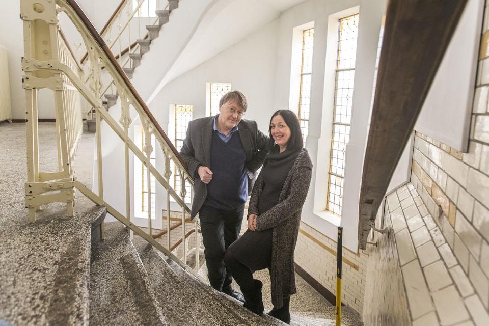 Dirk Gorter en echtgenote Joke Vorstman