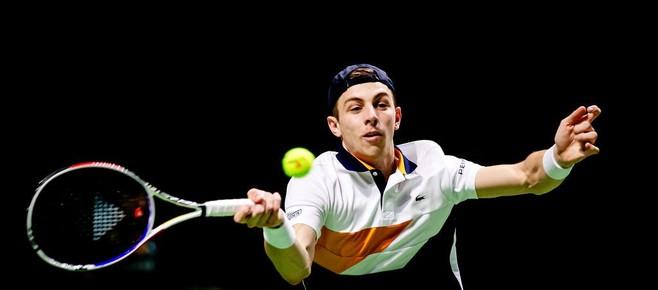Tallon Griekspoor op Roland Garros tegen Ecuadoraan