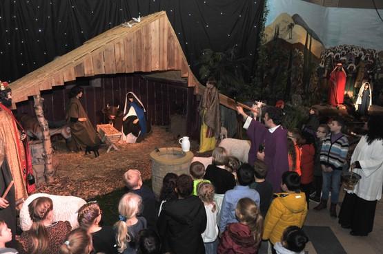 De grootste kerststal van Nederland staat in Beverwijk: 'Het vertelt het verhaal van de bevrijding in drie minuten'