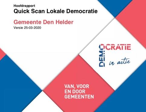 Hoe krijgt Helders stadsbestuur het vertrouwen van de bevolking terug? Dat moeten B en W onderzoeken, vinden vier raadsfracties