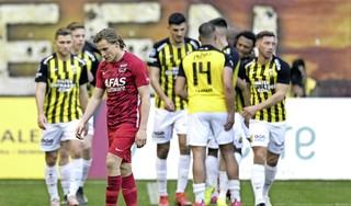 AZ gaat onderuit tegen directe concurrent Vitesse en ziet PSV uitlopen [video]