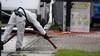 Asbest vrijgekomen bij brand in Heerhugowaard, straat afgesloten voor schoonmaakwerkzaamheden