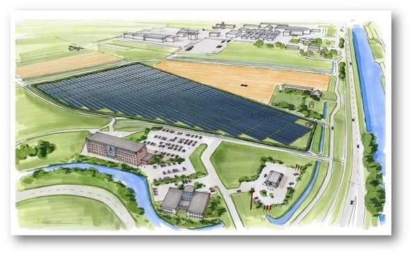 Dirk Jimmink vindt zonnepark 'een verrommeling van het landschap', maar legt zich neer bij uitspraak Raad van State