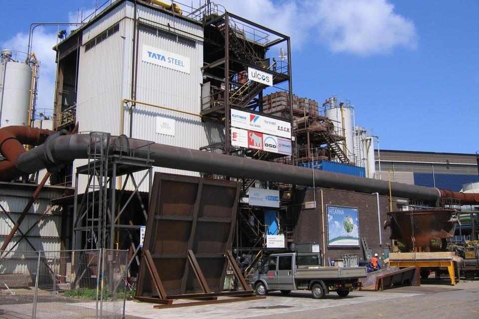 De proefinstallatie Hisarna op het terrein van Tata Steel IJmuiden
