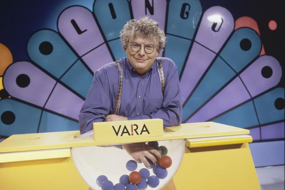 Als presentator van het spelletjesprogramma Lingo
