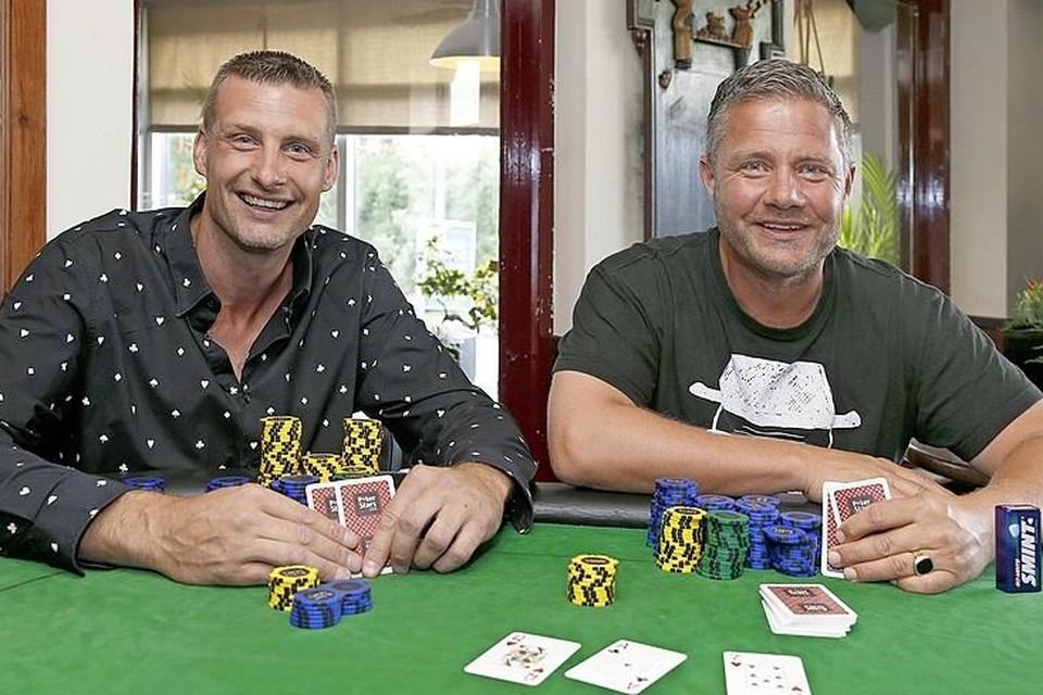Gerard Verrijdt (links) en Armand Born.
