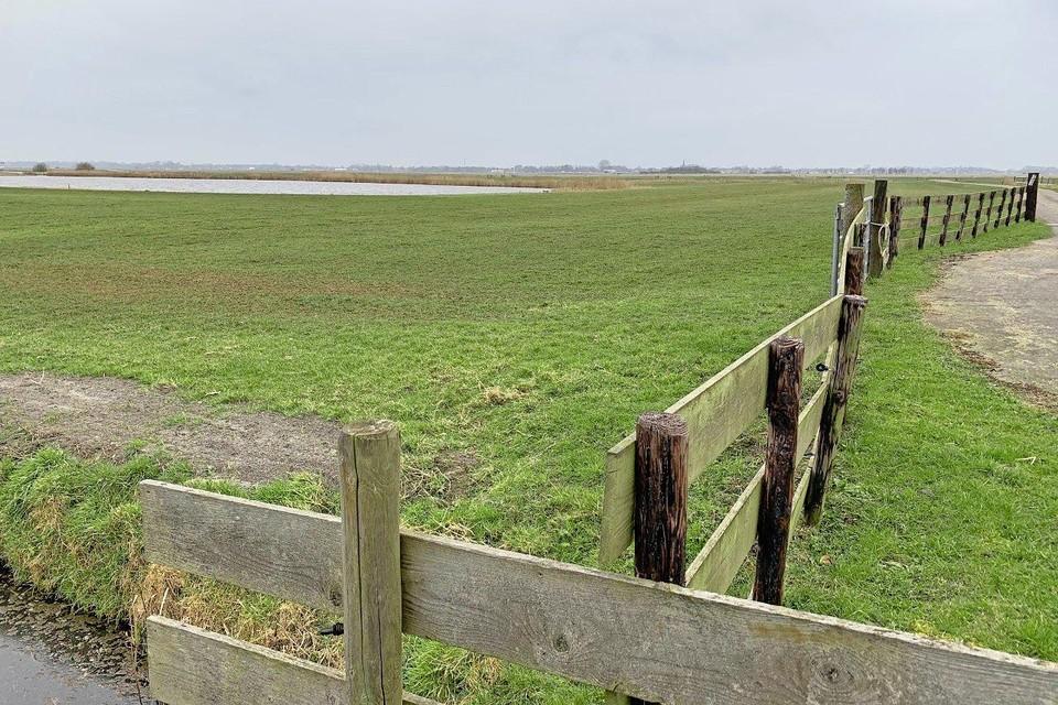 Het landelijk gebied tussen Akersloot en Limmen waar een illegaal feestje was.