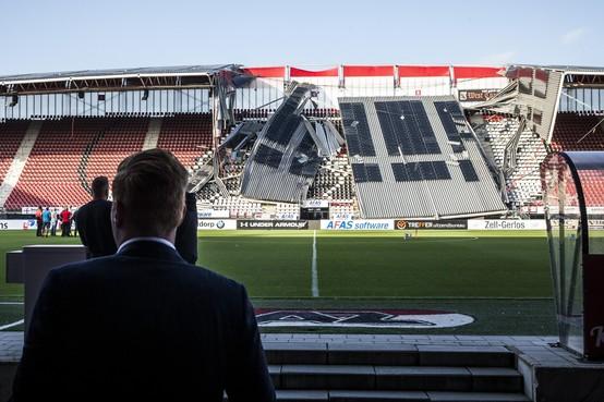 'Herstel stadion AZ kost zeker een jaar'