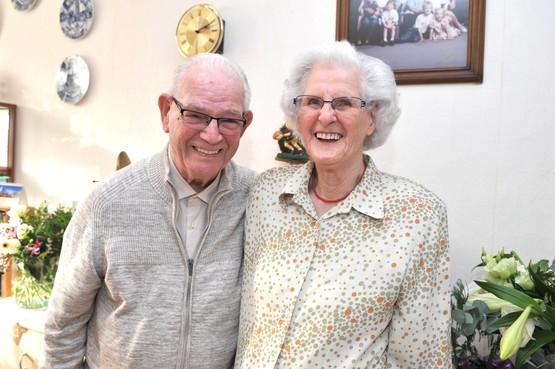 Al 65 jaar samen door ook los te laten