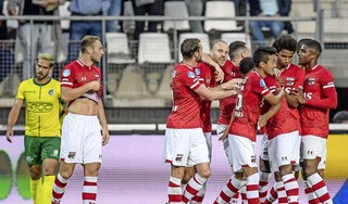 AZ opent het nieuwe dak tegen Fortuna, de club die ook als laatste het oude dak meemaakte