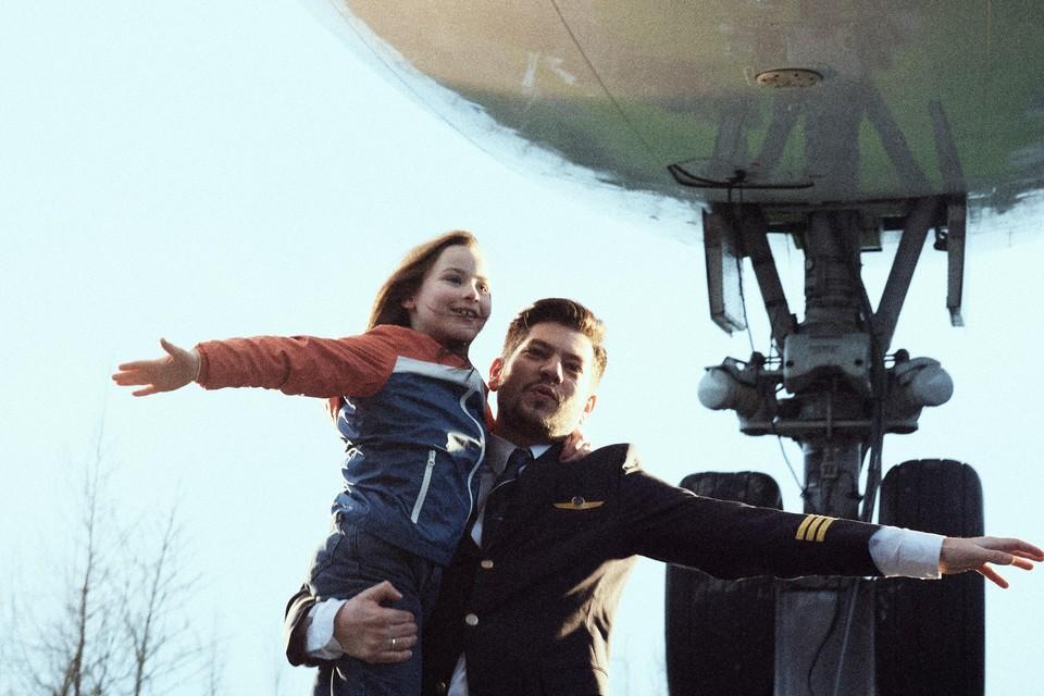 Scène uit 'Mjn vader is een vliegtuig'.