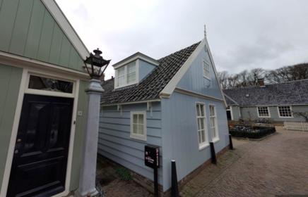 Bed in Broek (Broek in Waterland) genomineerd voor bed & breakfastprijs