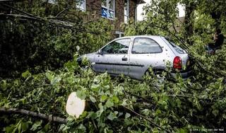Natuurgebieden bij Leersum afgezet na noodweer