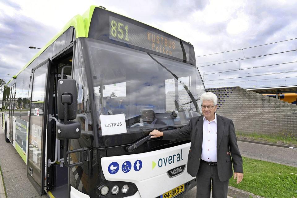 De klus geklaard voor deze chauffeur van de kustbus in de zomer van 2020. Station Den Helder is bereikt.