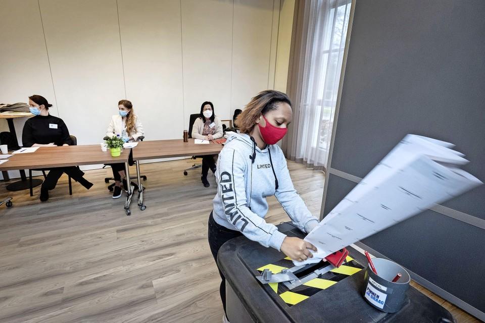 Kathelyn Belioso heeft voor het eerst van haar leven gestemd.
