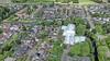 Ooit het bruisend hart van cultuur en sport in Oosthuizen, maar De Watering zal toch eens tegen de vlakte gaan [luchtfoto]