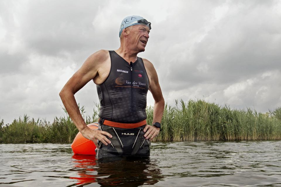 Willem van der Voort: 'In het najaar deed ik mijn eerste halve triatlon weer. Mijn lichaam was nog nooit zo soepel geweest.'