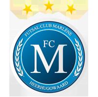 Er is voor de zaalvoetballers van FC Marlène nog genoeg werk aan de winkel