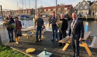 Burgemeester gemeente Waterland bedankt 'heldhaftige' betrokkenen ongeluk Galgeriet in september: 'Aarzelden geen moment'