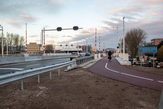 Ruim baan, de Leeghwaterbrug maakt rijden geweldig. Alle rijstroken zijn weer open
