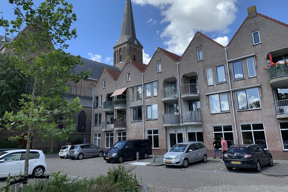 De kale winkelruimte aan het Kerkepad in Schagen waarin tot vorig jaar februari de Deen-supermarkt was gevestigd. Eigenaar Holland Immo Group zoekt een nieuwe huurder.