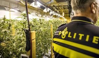Drugscriminelen Opmeer werden op heterdaad betrapt