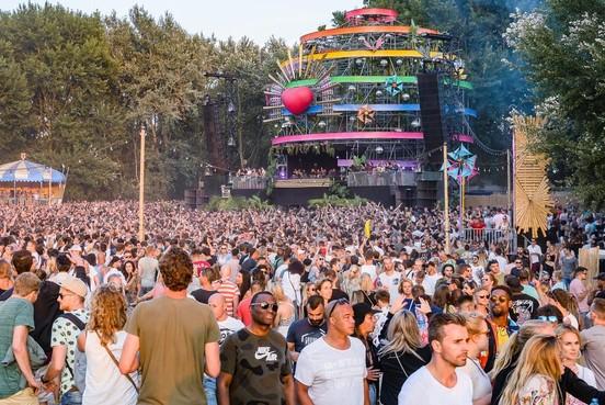 Welcome to the Futurefestival blijft nog klein