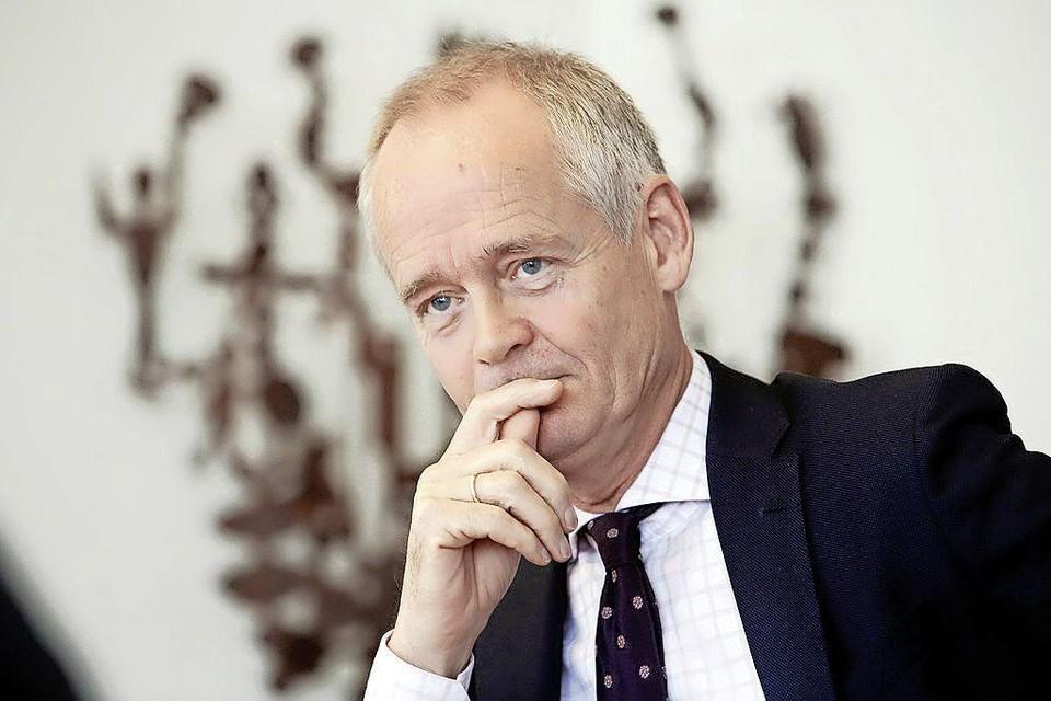 Niek Meijer, burgemeester van Huizen.