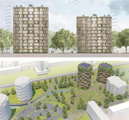 Vernieuwing van Haarlem-Schalkwijk komt lekker op stoom: 'De ambities zijn erg hoog, maar het zijn geen luchtkastelen'