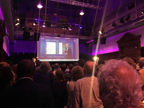 Teleurstelling bij nieuwe partij Volt, maar ook optimisme: 'Kijk met hoeveel mensen we zijn'